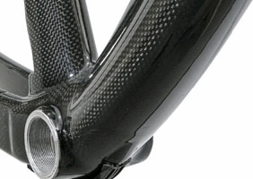 For weight, strength, ride quality and sheer beauty, carbon's tough to top!
